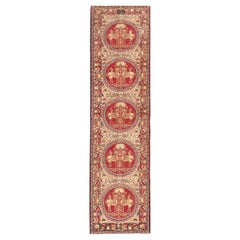 Antique Persian Kerman Runner Rug. Size: 3 ft x 11 ft (0.91 m x 3.35 m)