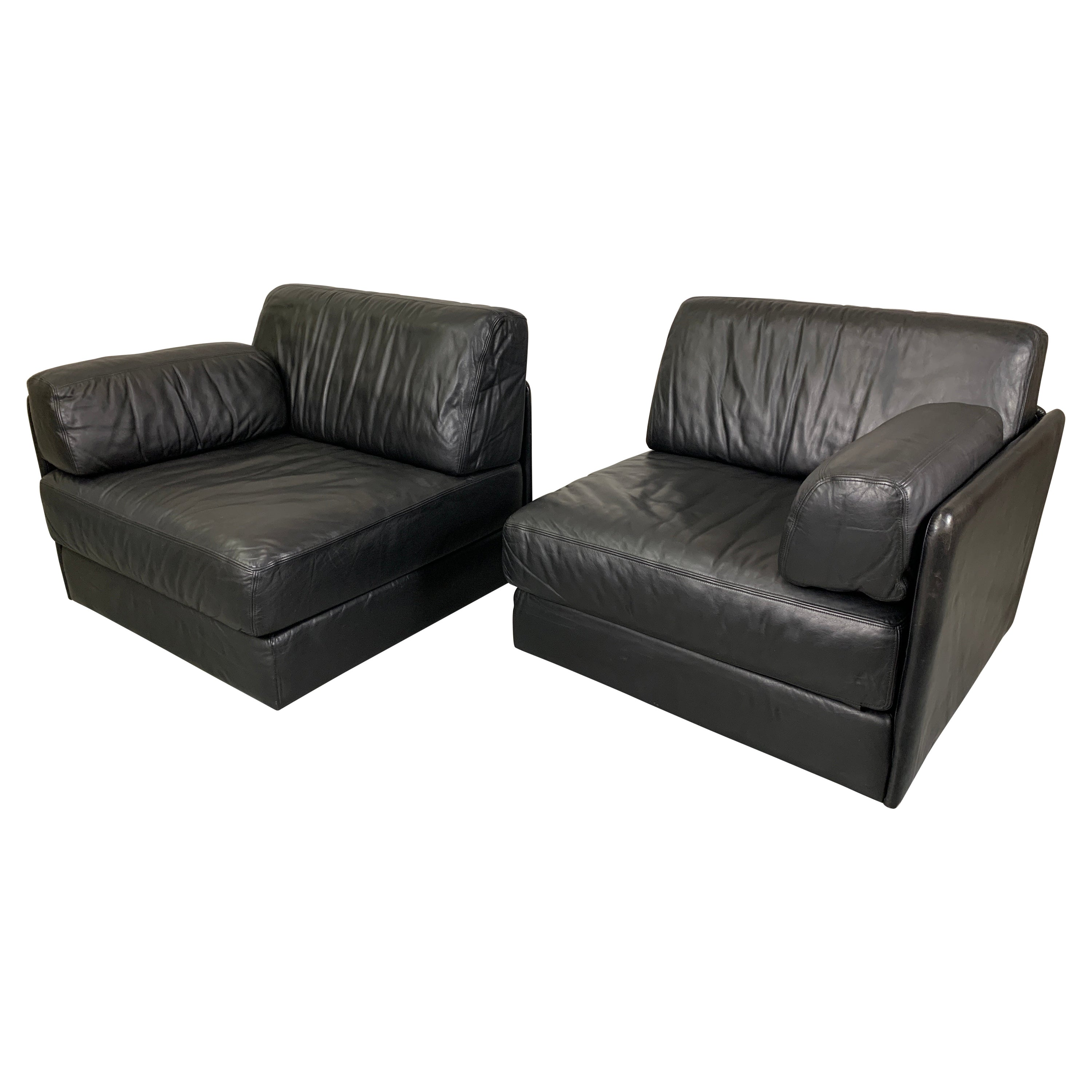 DS 76, De Sede Leather Chairs / Sofa
