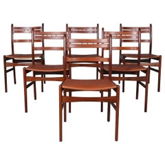 Arne Hovmand Olsen Set of Six Dining Chairs
