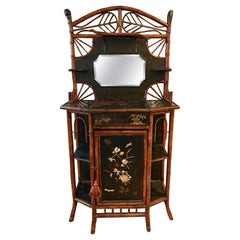 19th Century Bamboo Side Cabinet