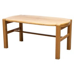 Heavy Oak Rainer Daumiller Style Dining Table