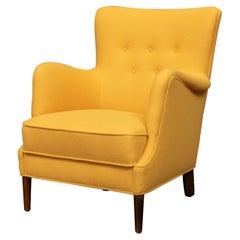Scandinavian Modern Petite Lounge Chair
