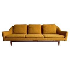 Jens Risom Danish Modern Sofa Signed