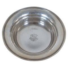 Antique S. Kirk & Son Sterling Silver .925 Vegetable Serving Bowl 313g 3700