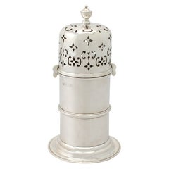 Antique Victorian Sterling Silver Lighthouse Style Sugar Caster