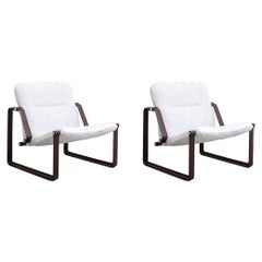 Pair of Mid-Century Modern Lobby Armchair by Brazilian Designer Jorge Zalszupin