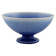 Sven Wejsfelt, Gustavsberg Studiohand, Bowl in Glazed Ceramics