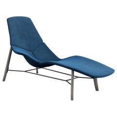 Atoll Blue Chaise Longue