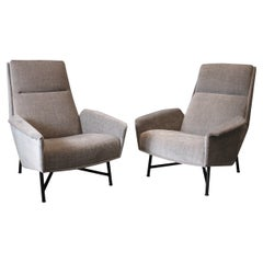 Pair of Claude Delor Armchairs