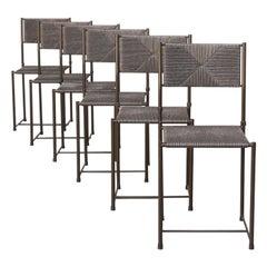 Giandomenico Belotti 'Paludis' Dining Chair for Alias Set/6