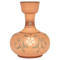 Christopher Dresser Attributed Aesthetic Movement Terracotta Vase