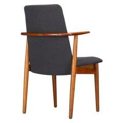 Desk Chair by Hans Olsen for Hillrod Mobler, 1960s
