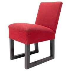 Josef Hoffmann Style Side Chair, 1920´s, Central Europe