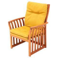 Teak Scandinavian Mid-Century Modern Armchair, 1960s