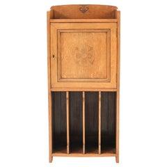 Oak Art Nouveau Cabinet, circa 1910