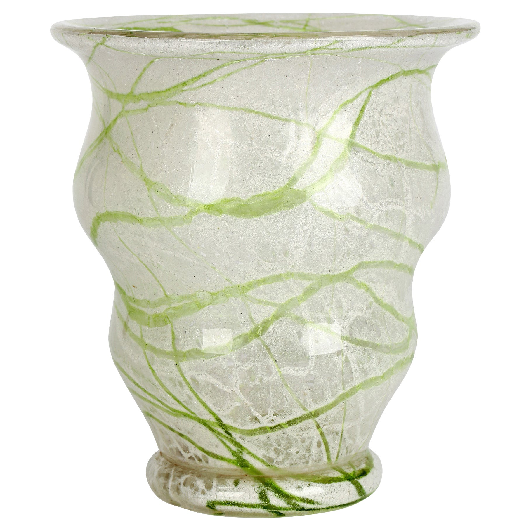 Loetz Art Deco Schaumglas Art Glass Vase