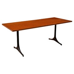 Mid-Century Modern Wood Desk Table by George Nelson for Herman Miller, 1960s