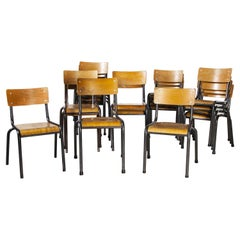 1950's Mullca Stacking Children's Chairs, Set of Twenty Chairs