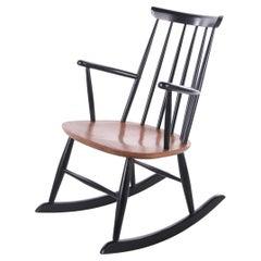 Scandinavian Rocking Chair Design by Roland Rainer by Hagafors Stolfabrik