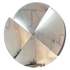 Mid-Century Modern Backlit Mirror by Pierre Cardin for New Acerbis Line, 1980s