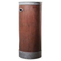 1940's Original Suroy Tall Industrial Storage Cylinder 'Model 1259'