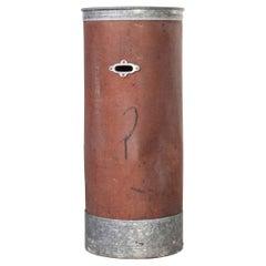 1940's Original Suroy Tall Industrial Storage Cylinder 'Model 1259.1'