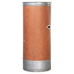 1940's Original Suroy Tall Industrial Storage Cylinder 'Model 1259.3'