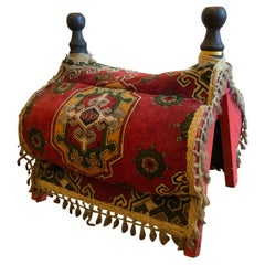 Rare Elaborate Traditional Wool Turkish Camel Saddle