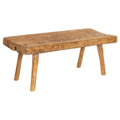Rough Hewn Vintage Coffee Table Old Work Table