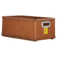 1940's Original Suroy Low Industrial Storage Box