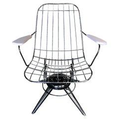Mid Century Springer B25 Rocking Chair by Homecrest