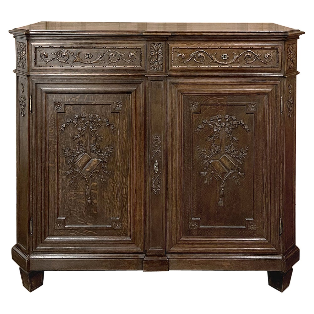 19th Century Liegoise Hand-Carved Louis XIV Style Buffet