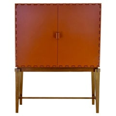 Tangara Two Door Bar Pearl Orange by Luis Pons