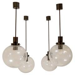 Midcentury Hans-Agne Jakobsson Pendant Hanging Lamp, Sweden, 1960s
