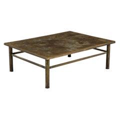 "Philip & Kelvin LaVerne ""Classical"" Bronze Coffee Table"