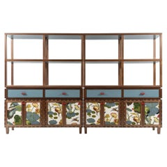 Tangara Fabric Panels Sideboard by Luis Pons