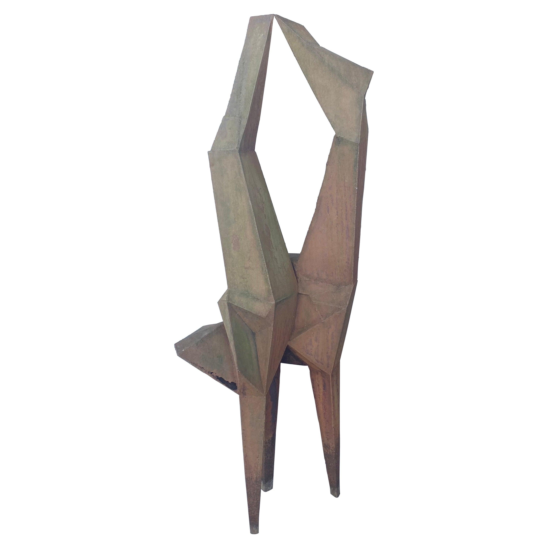 Large Welded steel Modernist Sculpture / garden,, manner of Lynn Chadwick