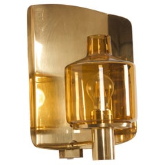 Sconce Wall Lamp by Hans-Agne Jakobsson Model V-222
