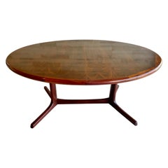 Danish Mahogany Dining Table
