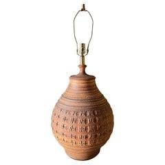 Studio Crafted Ceramic Lamp by Bob Kenzie for Affiliated Craftsmen, circa 1960s