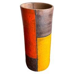 Large Aldo Londi for Bitossi Italian Modern Vase