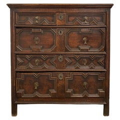 17th Century English Charles II Chest of Drawers