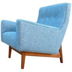 Jens Risom Danish Modern Lounge Chair Model U350 Fully Restored