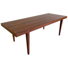 Danish Modern Severin Hansen Rosewood Coffee Table