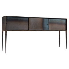 Unique Idir Mecibah Handcrafted Sideboard in Wrought Iron