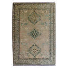 Kazak Style Rug Muted Colors from Afghanistan