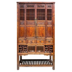 Late 19th Century Kitchen Cabinet from Zhejiang Province, China