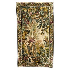 Beautiful Mid Century French Jaquar Tapestry