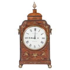 Early 19th Century English Regency Bracket Clock by T. & J. Ollivant