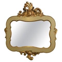 1940s Spanish Gilded Mirror